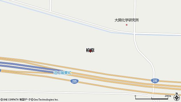 〒059-1362 北海道苫小牧市柏原の地図