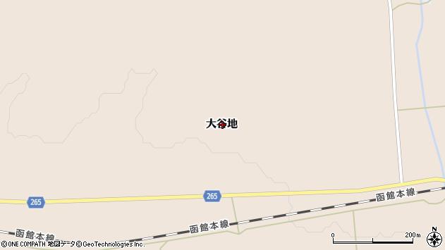 〒048-0133 北海道寿都郡黒松内町大谷地の地図