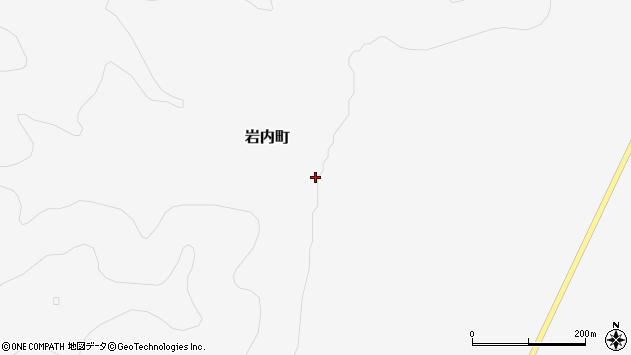 〒080-2121 北海道帯広市岩内町の地図
