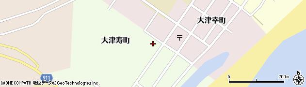 大津稲荷神社周辺の地図