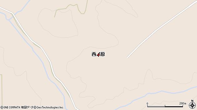 〒048-1741 北海道虻田郡留寿都村西ノ原の地図