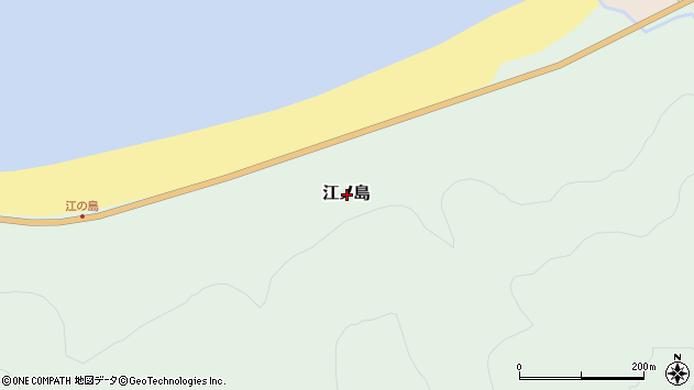 〒048-0623 北海道島牧郡島牧村江の島の地図