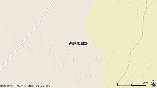 〒048-0131 北海道寿都郡黒松内町西熱郛原野の地図
