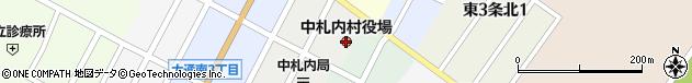 北海道河西郡中札内村周辺の地図