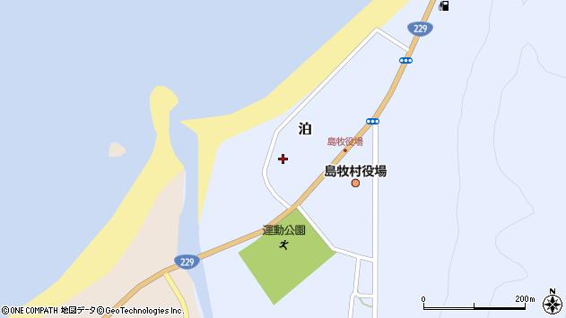 〒048-0621 北海道島牧郡島牧村泊の地図