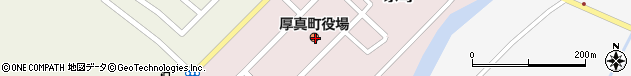 北海道勇払郡厚真町周辺の地図