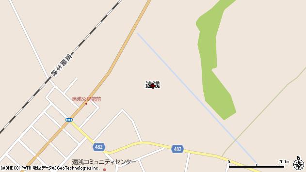 〒059-1433 北海道勇払郡安平町遠浅の地図