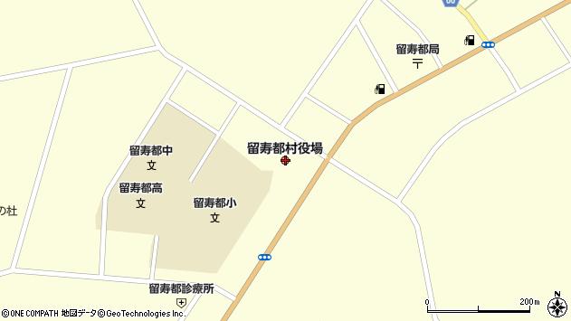 〒048-1700 北海道虻田郡留寿都村(以下に掲載がない場合)の地図