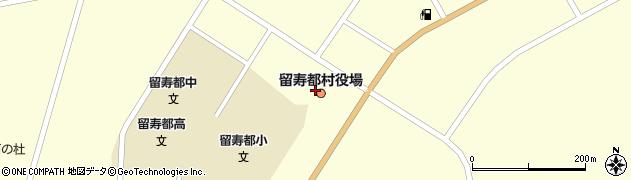北海道虻田郡留寿都村周辺の地図