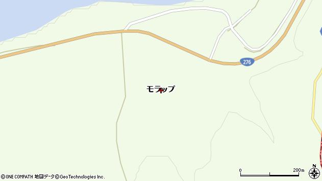 〒066-0283 北海道千歳市モラップの地図