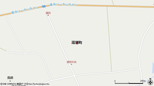 〒048-0414 北海道寿都郡寿都町湯別町の地図