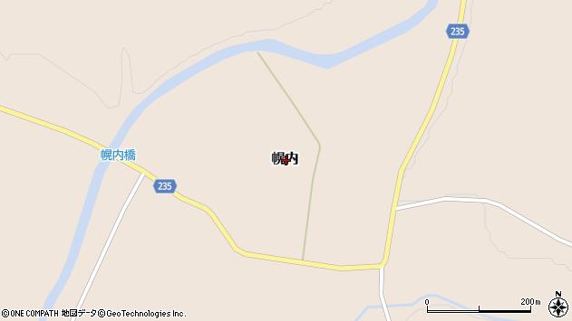 〒059-1616 北海道勇払郡厚真町幌内の地図