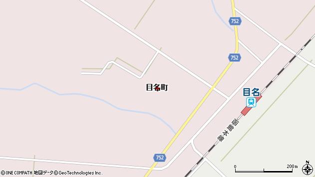 〒048-1261 北海道磯谷郡蘭越町目名町の地図