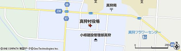北海道虻田郡真狩村周辺の地図
