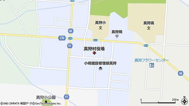 〒048-1600 北海道虻田郡真狩村(以下に掲載がない場合)の地図