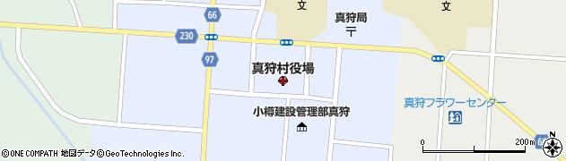 北海道真狩村(虻田郡)周辺の地図