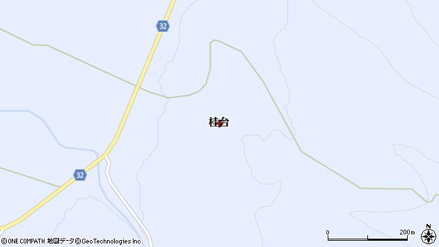 〒048-1562 北海道虻田郡ニセコ町桂台の地図