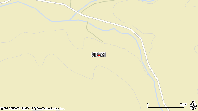 〒044-0224 北海道虻田郡喜茂別町知来別の地図
