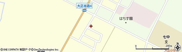 北海道帯広市昭和町基線周辺の地図