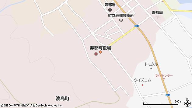 〒048-0400 北海道寿都郡寿都町(以下に掲載がない場合)の地図