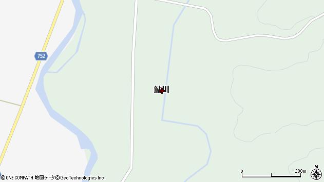 〒048-1265 北海道磯谷郡蘭越町鮎川の地図
