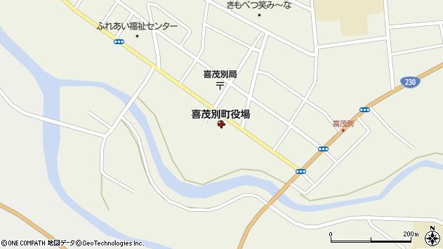 〒044-0200 北海道虻田郡喜茂別町(以下に掲載がない場合)の地図