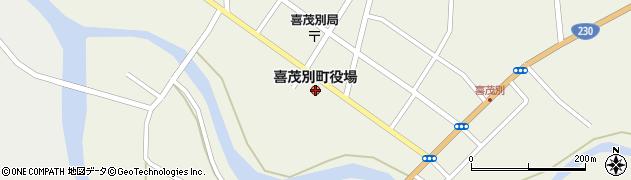 北海道喜茂別町(虻田郡)周辺の地図