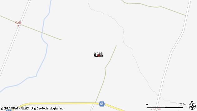 〒048-1542 北海道虻田郡ニセコ町近藤の地図