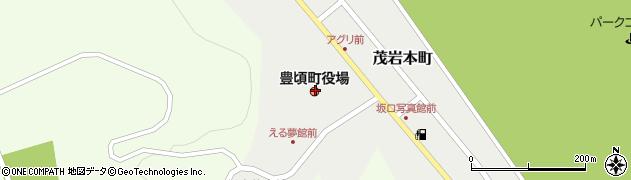 北海道中川郡豊頃町周辺の地図