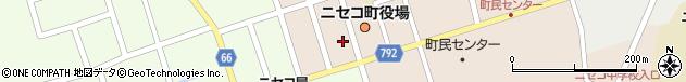 北海道虻田郡ニセコ町周辺の地図