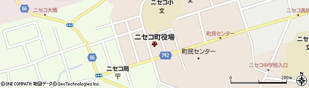 北海道ニセコ町(虻田郡)周辺の地図