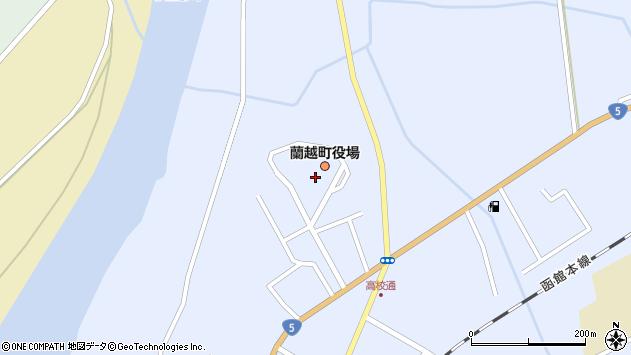〒048-1300 北海道磯谷郡蘭越町(以下に掲載がない場合)の地図