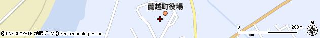 北海道磯谷郡蘭越町周辺の地図