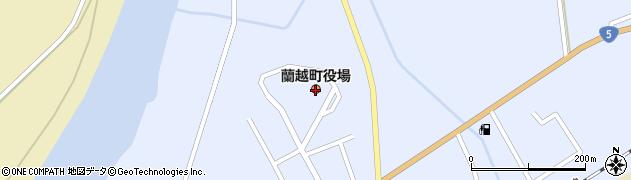 北海道蘭越町(磯谷郡)周辺の地図