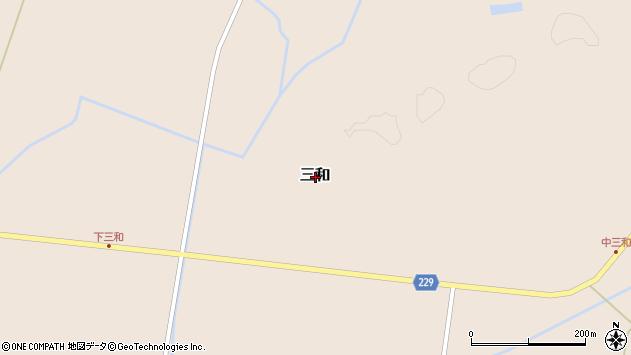〒048-1312 北海道磯谷郡蘭越町冷水の地図