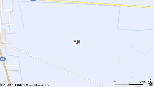 〒044-0121 北海道虻田郡京極町三崎の地図