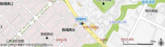 和光町1周辺の地図