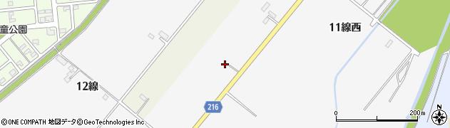 北海道帯広市空港南町南12線西周辺の地図