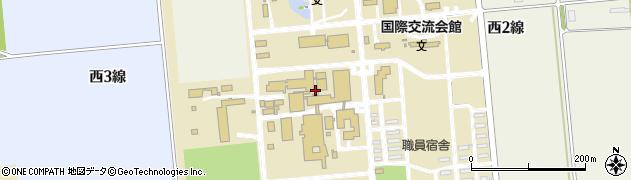 北海道帯広市稲田町西3線周辺の地図