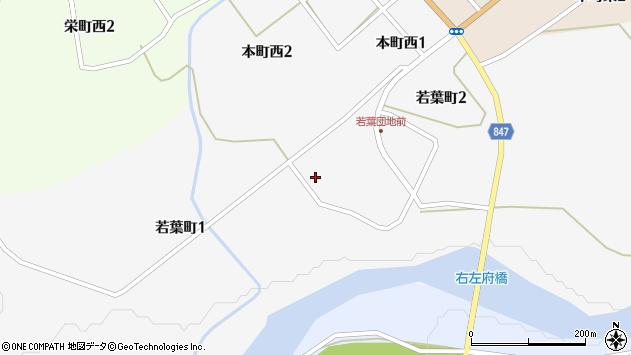 〒055-2309 北海道沙流郡日高町若葉町の地図