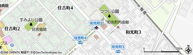 住吉町4周辺の地図