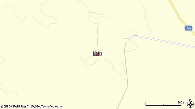 〒069-1182 北海道千歳市協和(その他)の地図