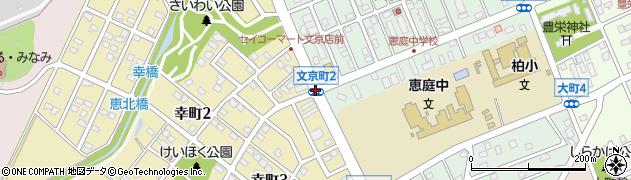 文京町3周辺の地図