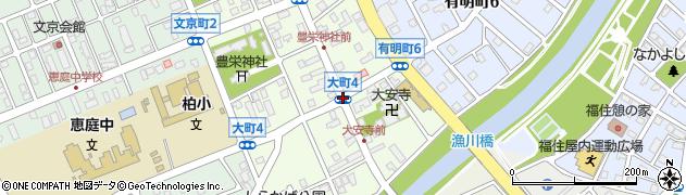 大町4周辺の地図