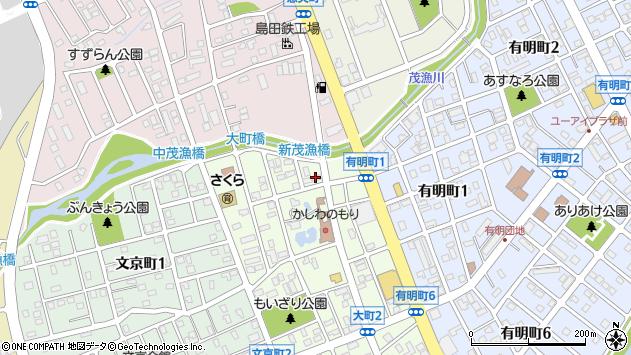〒061-1424 北海道恵庭市大町の地図