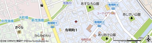 恵庭市役所 教育委員会適応指導教室ふれあいルーム周辺の地図