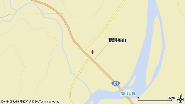 〒054-0361 北海道勇払郡むかわ町穂別福山の地図