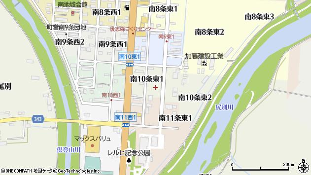 〒044-0024 北海道虻田郡倶知安町南十条東の地図