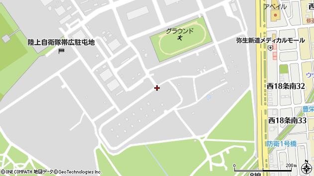 〒080-0857 北海道帯広市南町の地図