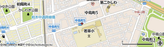 中島町5周辺の地図